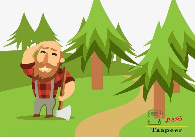 قصة جميلة: قصة الحطّاب والشجرة العجوز !