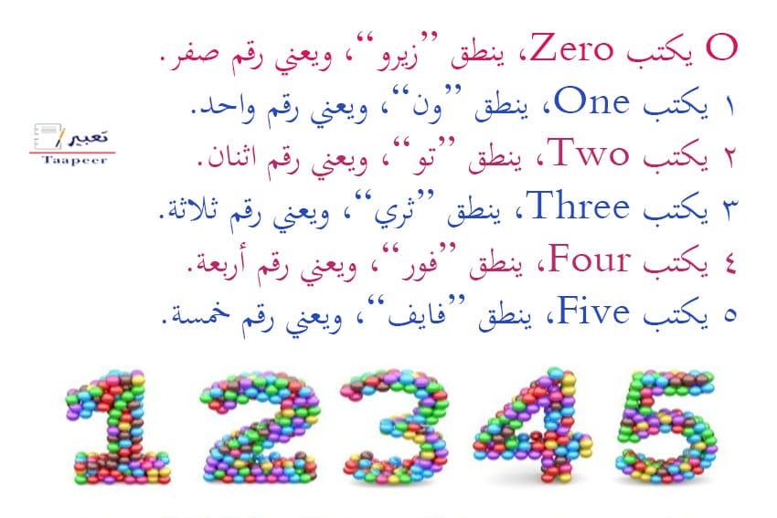 تعرف على أفضل طرق تعليم ارقام انجليزي للأطفال